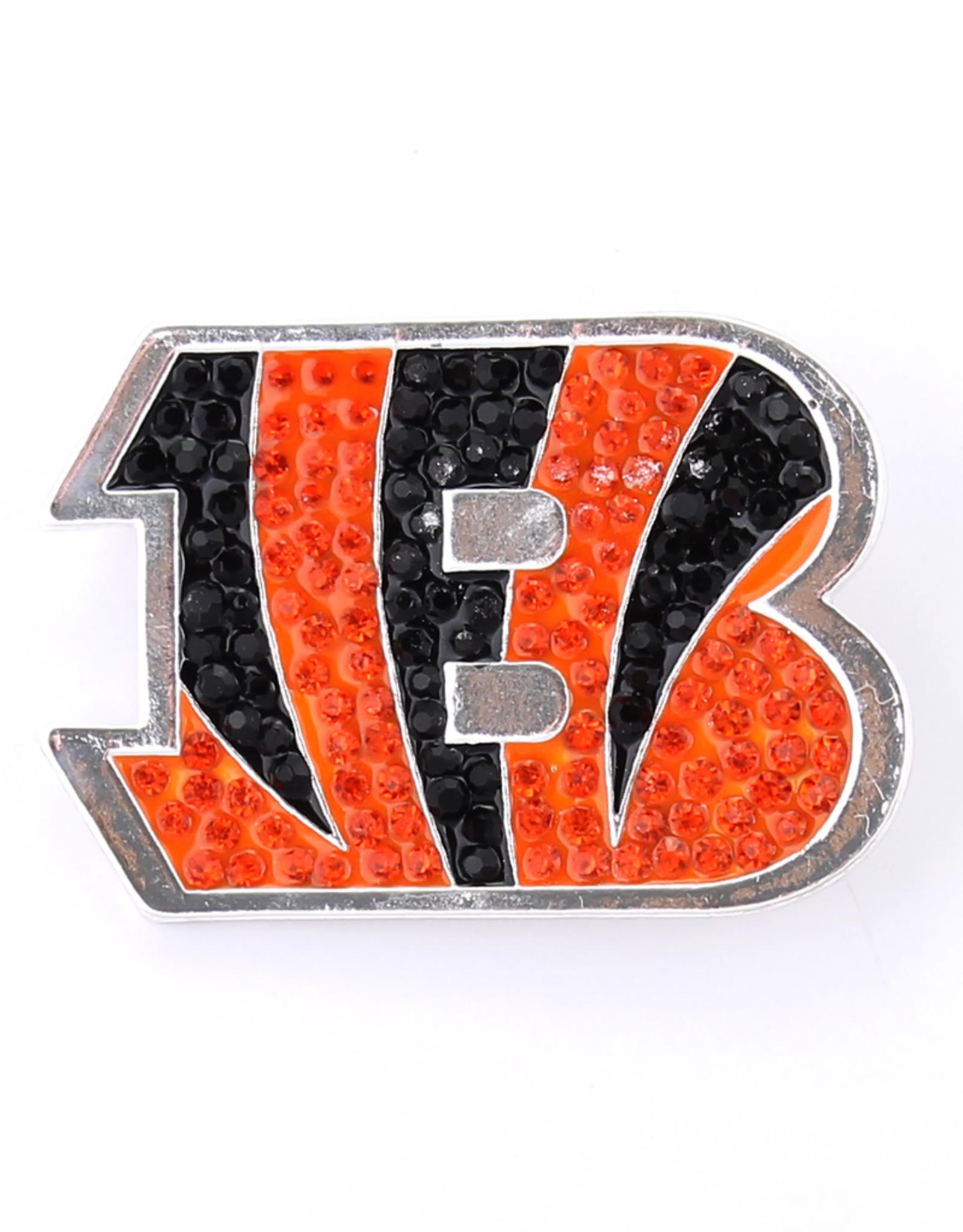 Cincinnati Bengals Crystal Logo Pin