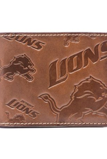 Detriot Lions Jack Mason Sideline Traveler Embossed Bi-Fold Wallet