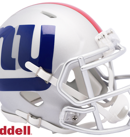 RIDDELL New York Giants Riddell AMP Alternate Mini Speed Helmet