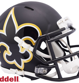 RIDDELL New Orleans Saints Riddell AMP Alternate Mini Speed Helmet