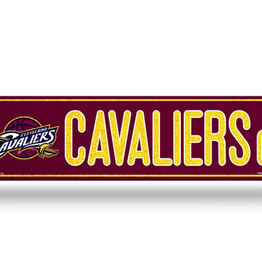 RICO INDUSTRIES Cleveland Cavliers Plastic Bling Street Sign