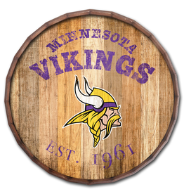 "FAN CREATIONS Minnesota Vikings 16"" Cracked Barrel Top -EST"