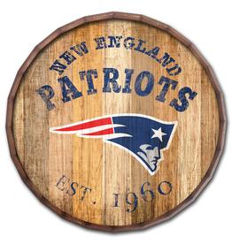 """FAN CREATIONS New England Patriots 16"""" Cracked Barrel Top -EST"""