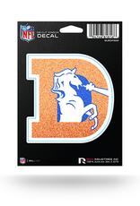 RICO INDUSTRIES Denver Broncos Die Cut Bling Decal