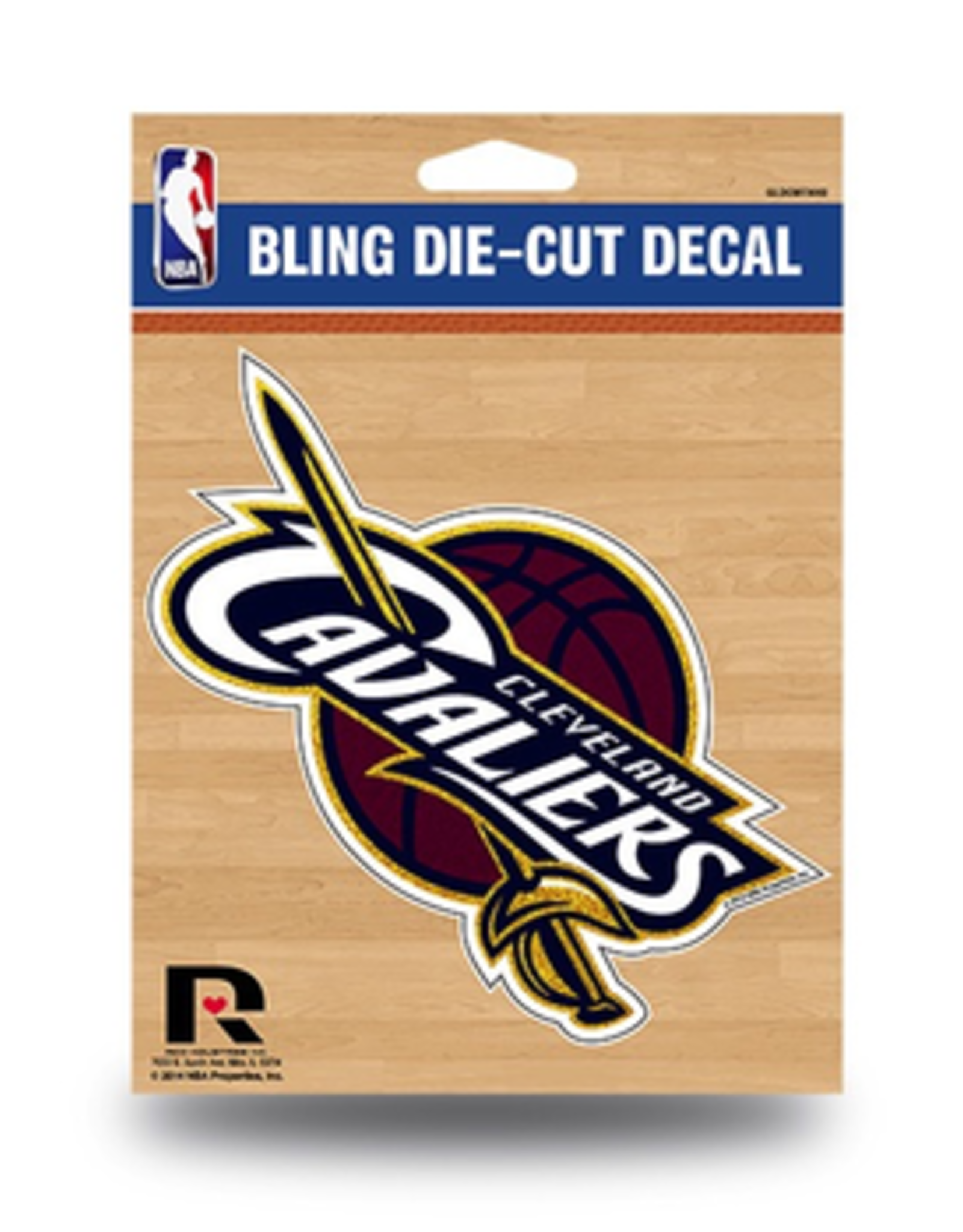 RICO INDUSTRIES Cleveland Cavliers Die Cut Bling Decal
