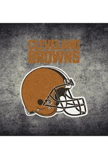 """MILLIKEN Cleveland Browns 46"""" x 64"""" Distressed Area Rug by Milliken"""