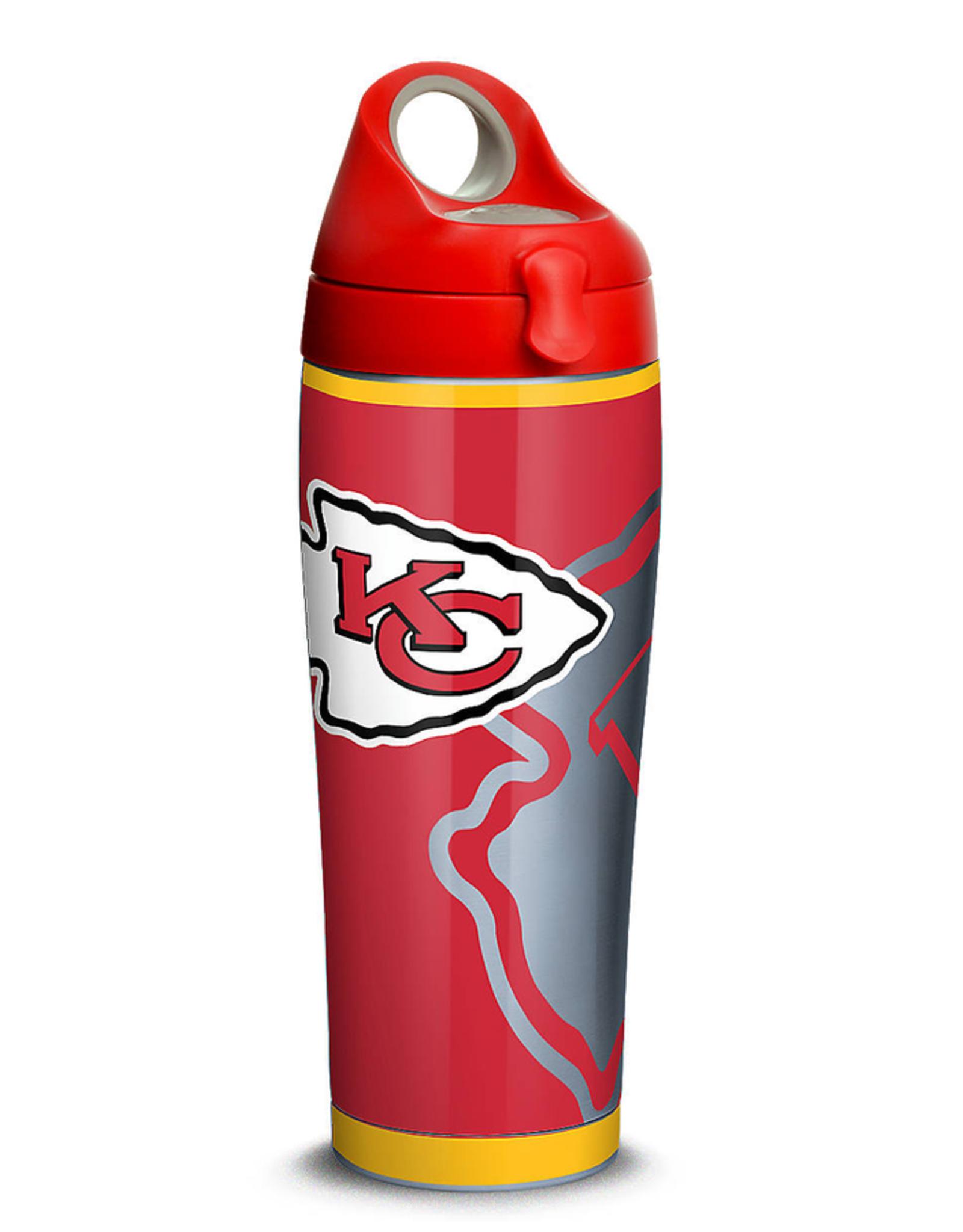 TERVIS Kansas City Chiefs 24oz TERVIS Rush Stainless Steel Water Bottle
