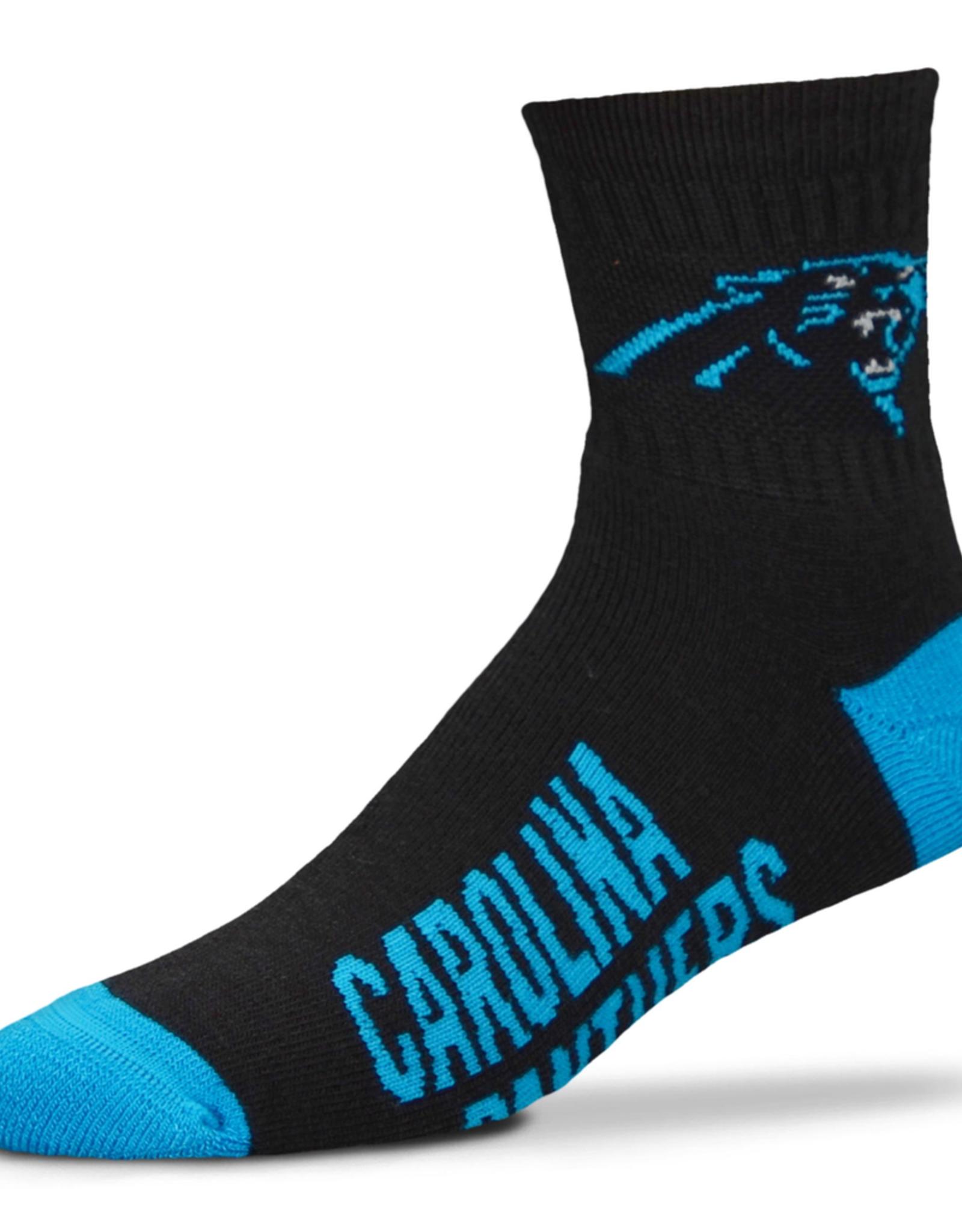FOR BARE FEET Carolina Panthers Youth Team Socks