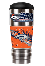 GREAT AMERICAN PRODUCTS Denver Broncos 18oz The MVP Stainless Tumbler