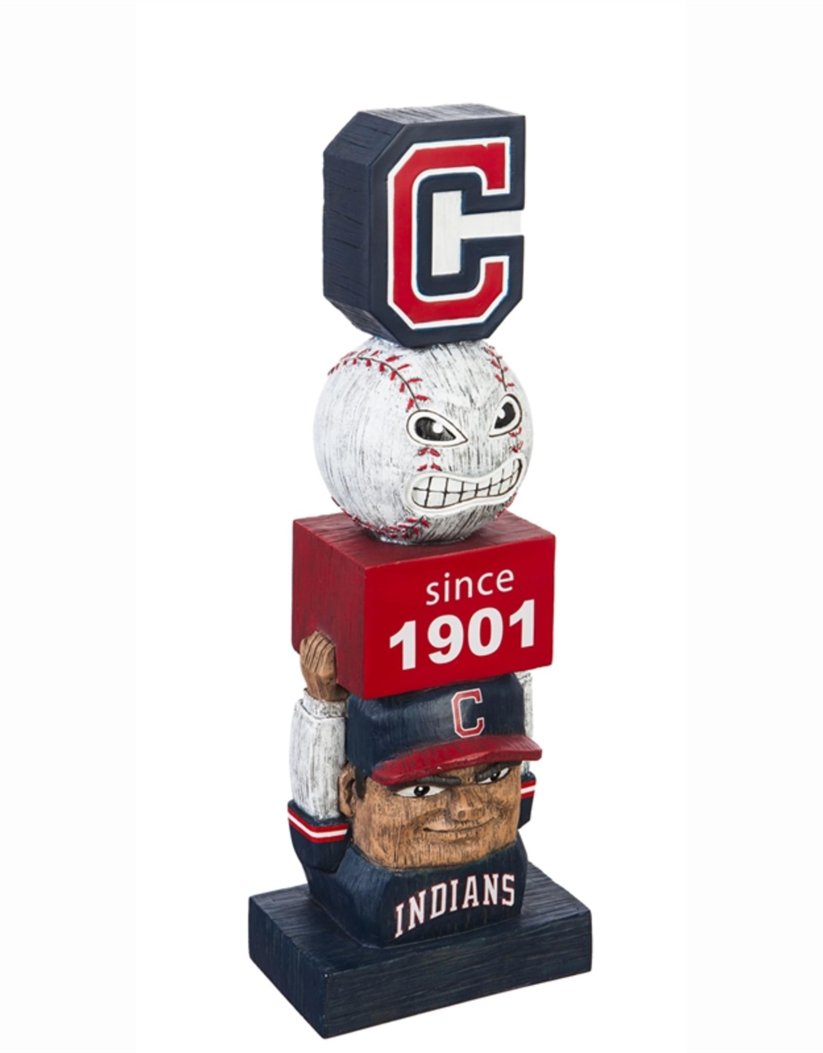 EVERGREEN Cleveland Indians Vintage Tiki Totem