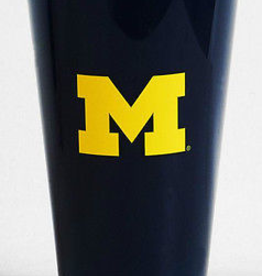Michigan Wolverines Insulated 20oz Acrylic Tumbler