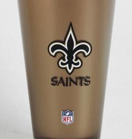 New Orleans Saints Insulated 20oz Acrylic Tumbler