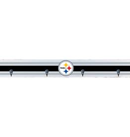 RUSTIC MARLIN Pittsburgh Steelers Rustic Wood Wall Hooks