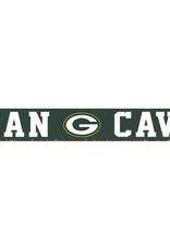 RUSTIC MARLIN Green Bay Packers Rustic Man Cave Sign