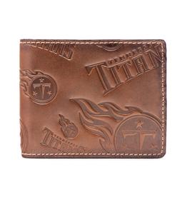 Tennessee Titans Jack Mason Sideline Traveler Embossed Bi-Fold Wallet
