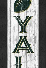 """PRINTS CHARMING Green Bay Packers """"LOYAL"""" 8x24 Framed Print"""