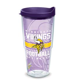 TERVIS Minnesota Vikings 24oz Gridiron Tervis Tumbler