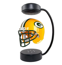 HOVER HELMETS Green Bay Packers Collectible Levitating Hover Helmet