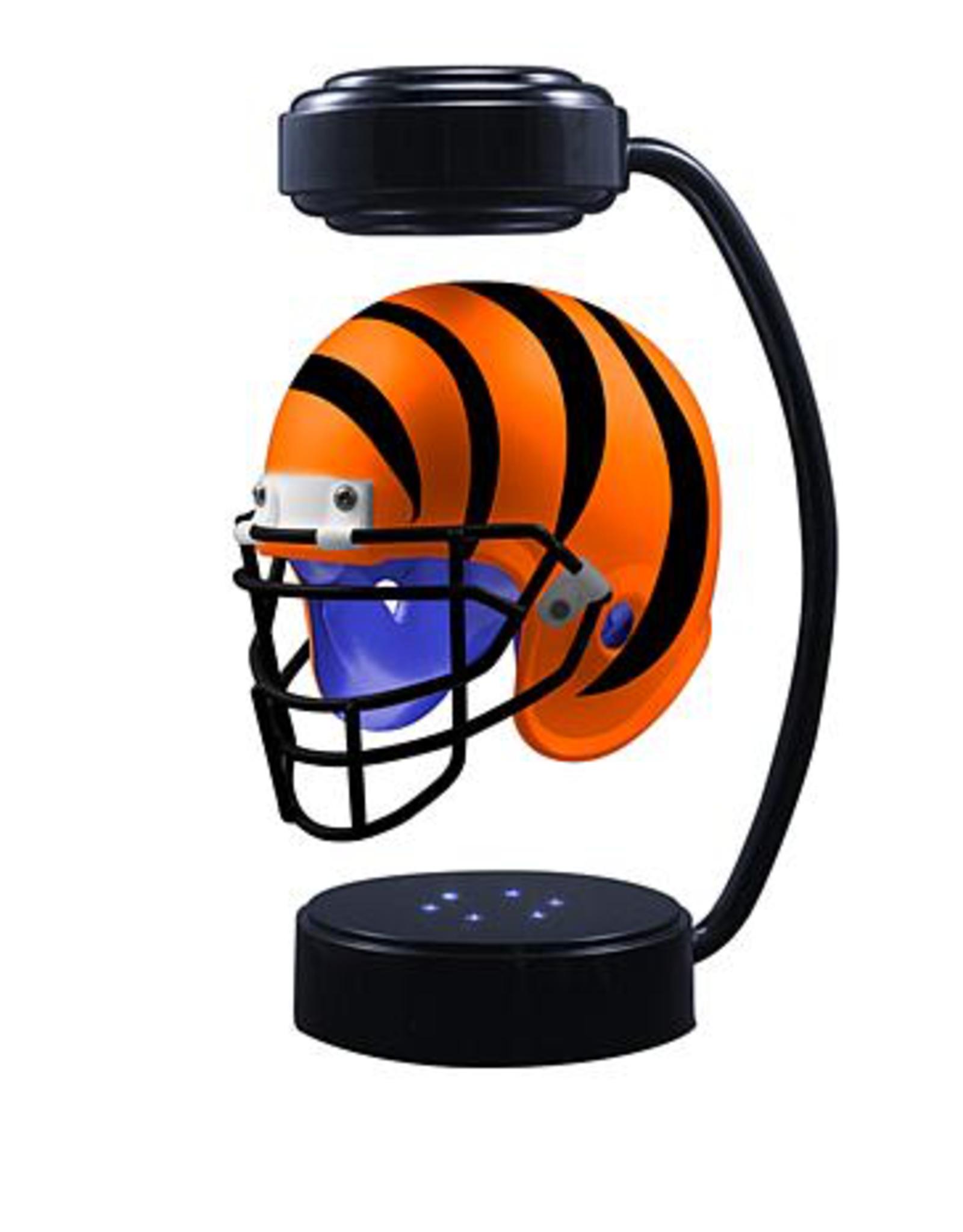 HOVER HELMETS Cincinnati Bengals Collectible Levitating Hover Helmet