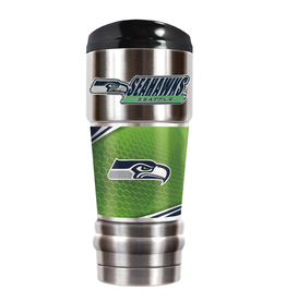 GREAT AMERICAN PRODUCTS Seattle Seahawks 18oz Stainless Steel MVP Tumbler