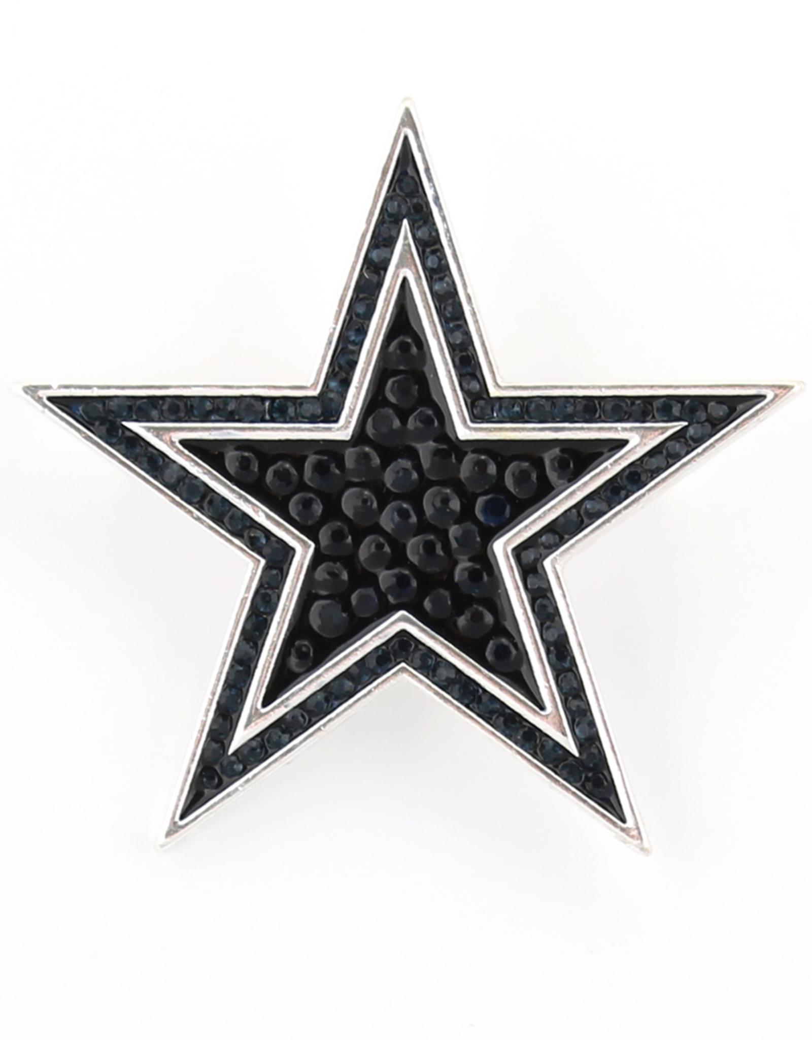 Dallas Cowboys Crystal Logo Pin