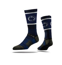 STRIDELINE Penn State Nittany Lions Strideline Crew Socks