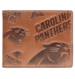 Carolina Panthers Jack Mason Sideline Traveler Embossed Bi-Fold Wallet