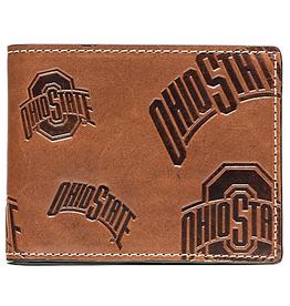 Ohio State Buckeyes Jack Mason Sideline Traveler Embossed Bi-Fold Wallet