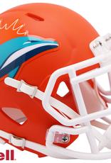 RIDDELL Miami Dolphins Riddell AMP Alternate Mini Speed Helmet