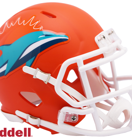RIDDELL Miami Dolphins Riddell AMP Alternate Mini Speed Helmet