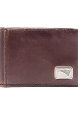 New England Patriots Jack Mason Legacy Flip Bi-Fold Wallet