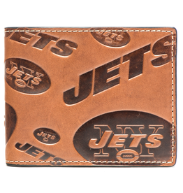 New York Jets Jack Mason Sideline Traveler Embossed Bi-Fold Wallet