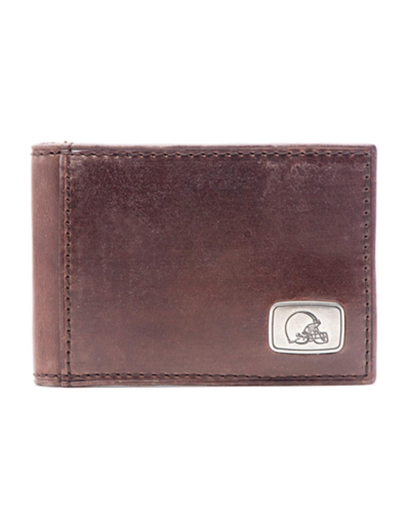 Cleveland Browns Jack Mason Legacy Flip Bi-Fold Wallet