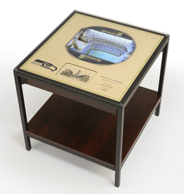 YOU THE FAN Seattle Seahawks LED Lighted Stadium View End Table