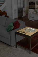 YOU THE FAN Green Bay Packers LED Lighted Stadium View End Table