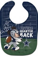 WINCRAFT Dallas Cowboys Disney Mickey Mouse Baby Bib
