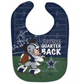 WINCRAFT Dallas Cowboys Disney Mickey Mouse Baby Bib