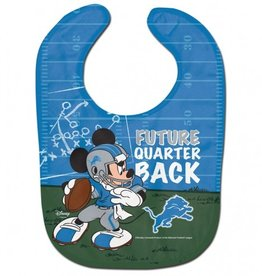 WINCRAFT Detriot Lions Disney Mickey Mouse Baby Bib