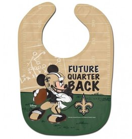 WINCRAFT New Orleans Saints Disney Mickey Mouse Baby Bib