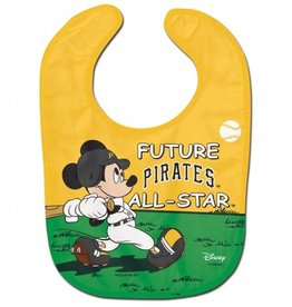 WINCRAFT Pittsburgh Pirates Disney Mickey Mouse Baby Bib
