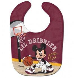 WINCRAFT Cleveland Cavaliers Disney Mickey Mouse Baby Bib