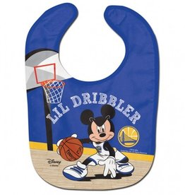 WINCRAFT Golden State Warriors Disney Mickey Mouse Baby Bib