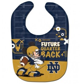 WINCRAFT Notre Dame Fighting Irish Disney Mickey Mouse Baby Bib