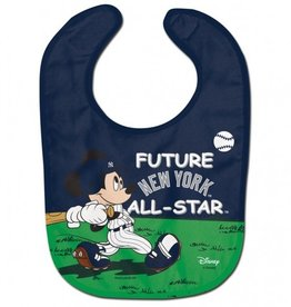WINCRAFT New York Yankees Disney Mickey Mouse Baby Bib