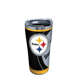 Pittsburgh Steelers TERVIS 20oz Stainless Steel Rush Tumbler
