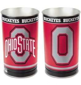 WINCRAFT Ohio State Buckeyes Wastebasket - OSU/BLOCK O
