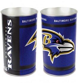 WINCRAFT Baltimore Ravens Wastebasket