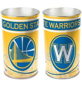 WINCRAFT Golden State Warriors Wastebasket