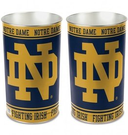 WINCRAFT Notre Dame Fighting Irish Wastebasket