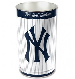 WINCRAFT New York Yankees Wastebasket - PIN STRIPE